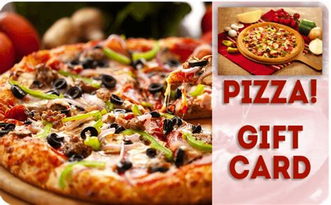 Pizza Gift Cards - pizza gift card free gifts offer