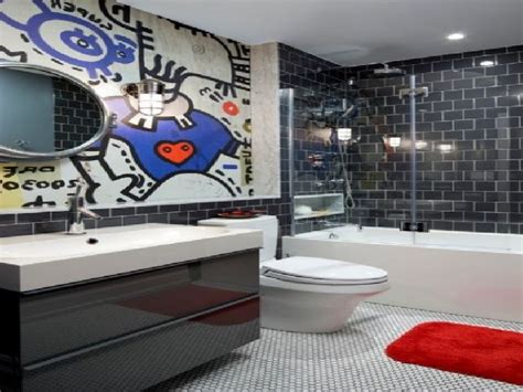 attractive boys bathroom ideas little design shelterness