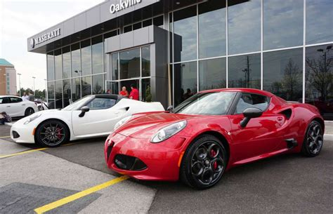 Alfa Romeo Canada by Alfa Romeo Inaugurato In Canada Il Primo Dealer In