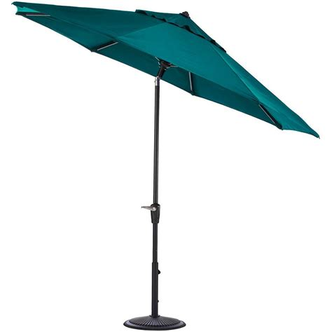 Home Decorators Collection 9 Ft Auto Tilt Patio Umbrella Patio Umbrella Frame