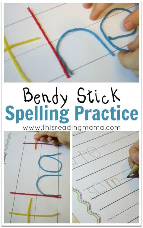 pattern writing wiki bendy stick spelling practice