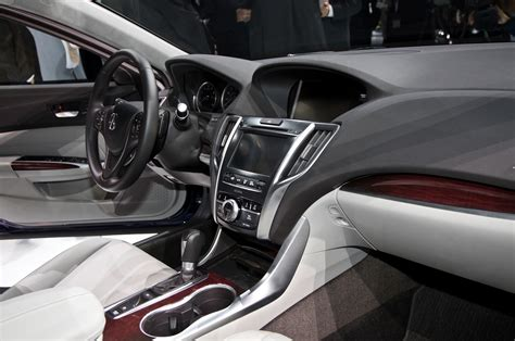 acura tlx 2015 interior production 2015 acura tlx scheduled for new york debut