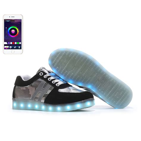 light up shoes app aliexpress com buy app new control unisex luminous shoes