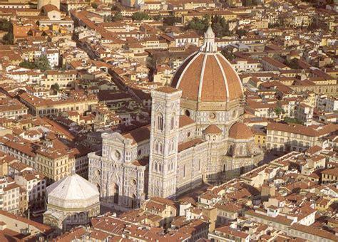 piazza santa fiore dome structures santa fiore florence