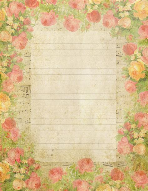 printable vintage stationery lilac lavender may 2012