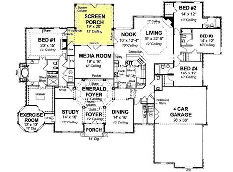 www monsterhouseplans com monster house plans one story house and home design
