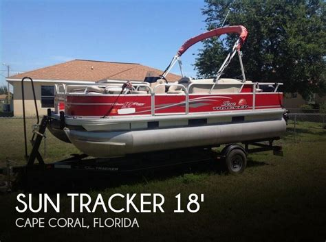 pontoon boats for sale cape coral florida canceled sun tracker bass buggy 18 dlx signature series