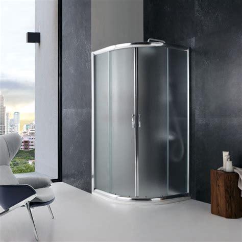 doccia 90x90 box doccia semicircolare 90x90 stondato con vetro opaco