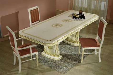 Caesar Dining Table Caesar High Gloss Italian Dining Table And 6 Chairs New Room Style