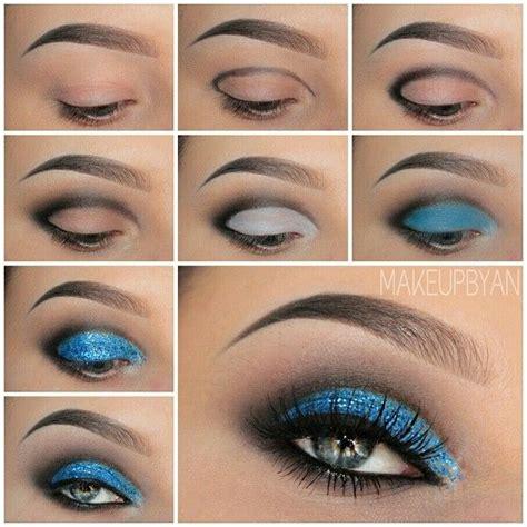 tutorial eyeshadow glitter 25 best images about glitter makeup tutorial on pinterest