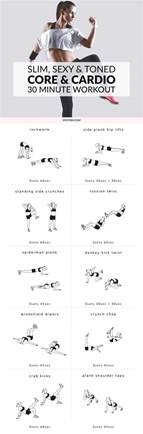 bodyweight at home and cardio workout