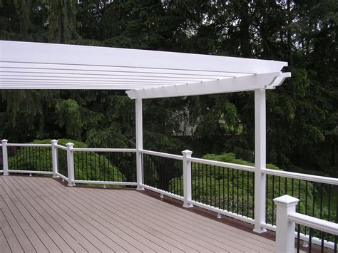 white vinyl pergola white vinyl pergola pergolas and roofs