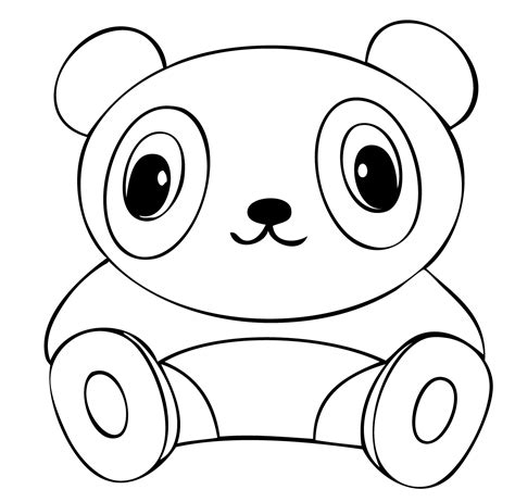 panda coloring pages kawaii panda coloring pages coloring pages