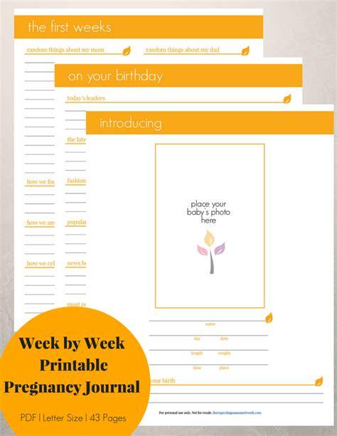 printable pregnancy to do list week by week pregnancy journal printable neutral pregnancy