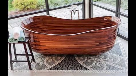 How To Make Wooden Bathtub by Custom Wood Bathtub