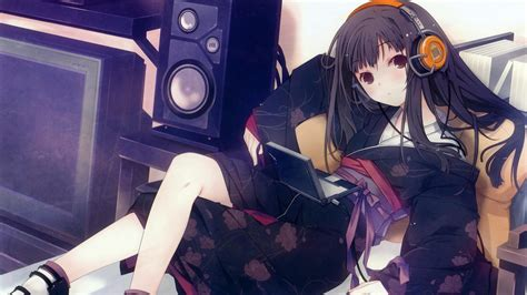 anime music girl wallpaper anime girl music 847212 walldevil