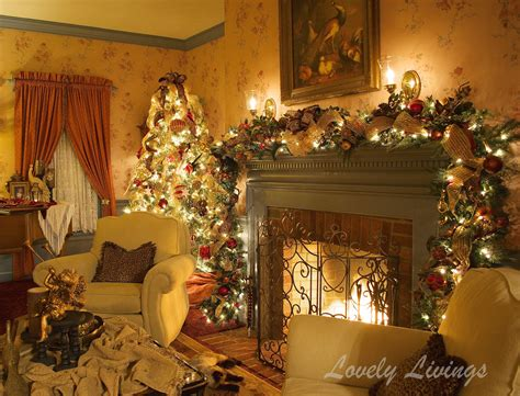 warm and cozy christmas living room live laugh rowe