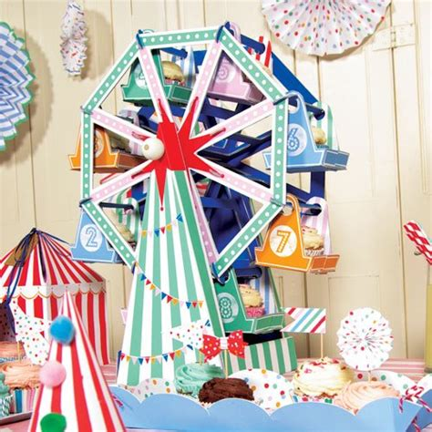 Toot Sweet Cupcake Ferris Wheel Centerpiece Cupcake Centerpieces For Birthday