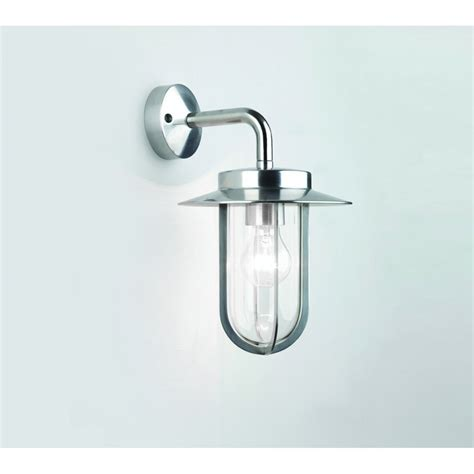 Outdoor Light Fittings Astro Lighting Montparnasse Single Light Outdoor Wall Fitting In Polished Nickel Astro