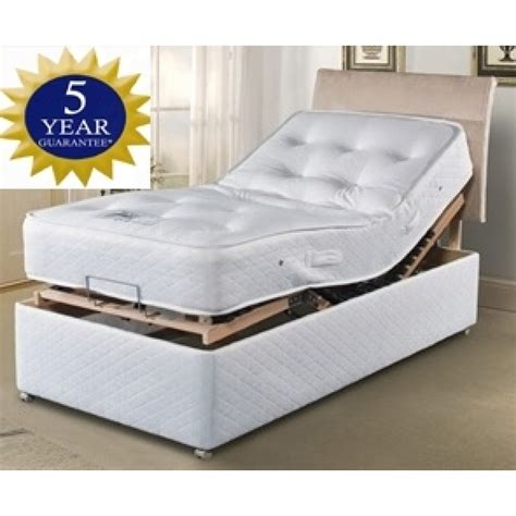 king size 5ft adjustable electric bed with 2 x 1000 pocket sprung mattress free delivery and