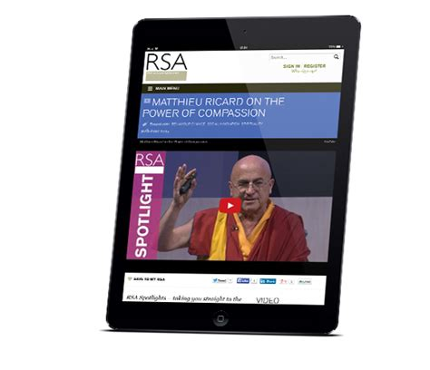 Media Mba Uk by Transforming The Rsa With A Robust Digital Strategy