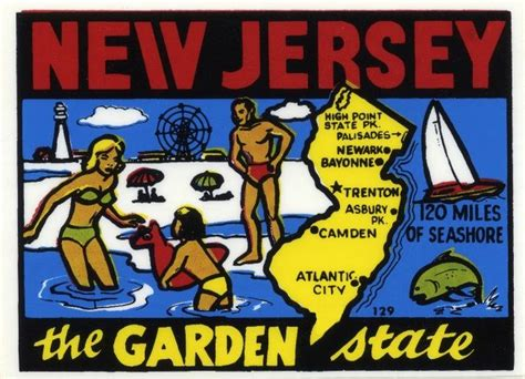 Garden State New Jersey by New Jersey The Garden State