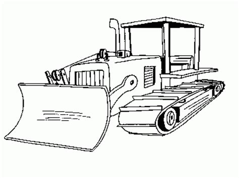 Bulldozer Coloring Page Coloring Com Bulldozer Coloring Pages