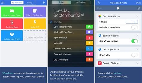 workflow for apps 5 essential productivity apps for your new iphone 6s
