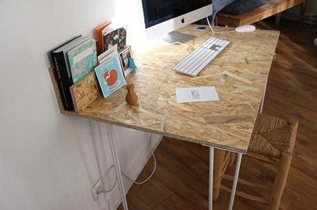 bureau en osb un bureau osb handmade tr 232 s simple 224 r 233 aliser