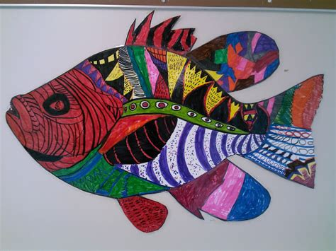 Pattern Art Projects High School | teaching elementary and middle school art fine art fine