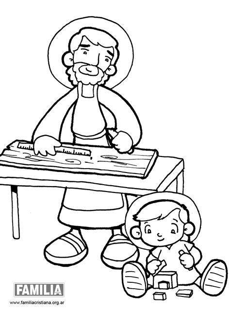 dibujos para colorear de san jose mi clase de reli san jos 201