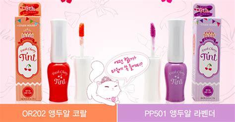 Diskon Etude House Fresh Cherry Tint etude house fresh cherry tint or202 pp501 limited memorable days korean