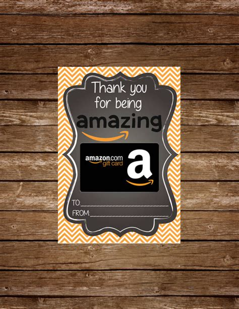 Instant Gift Cards Amazon - amazon gift card holder tag printable