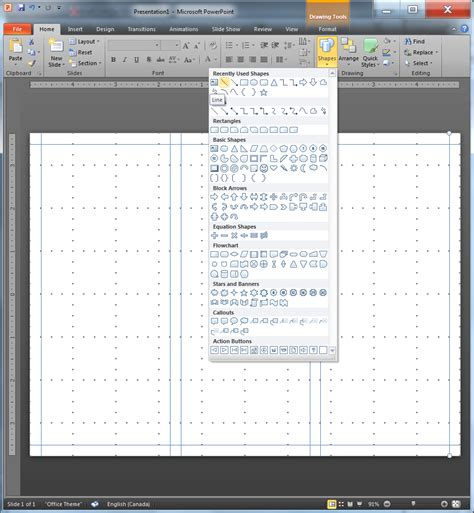 design grid powerpoint using grids in powerpoint techblogsearch com