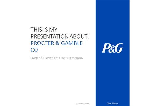 Procter Gamble Powerpoint Template Presentationgo Best Powerpoint White Templates