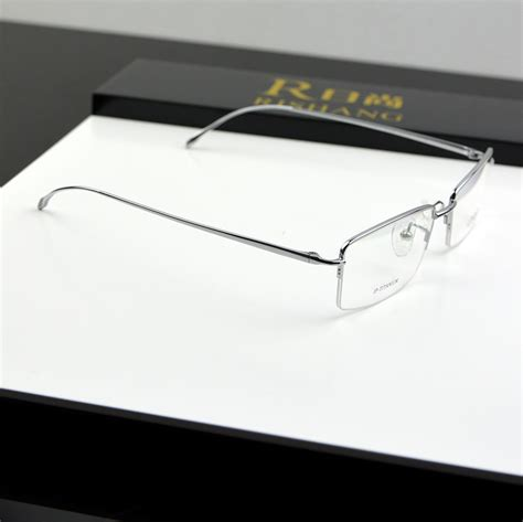 top quality slim ultra light eyeglasses titnaium