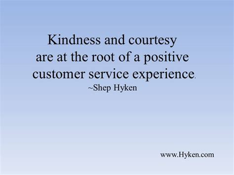 each and every customer interaction should be a