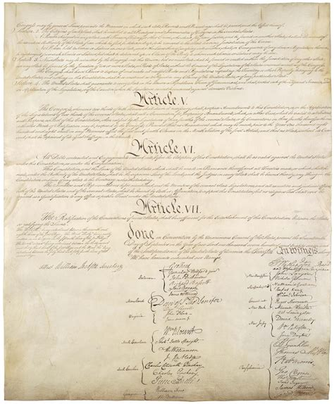 printable original us constitution the constitution of the united states of america the