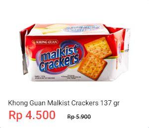 Roma Malkist Crackers 135 Gram harga biskuit khong guan mei 2018 cashback shopback