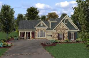 Craftsman Country House Plans by Country Craftsman House Plan 92380