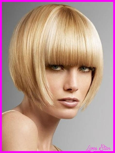 reverse bob haircut with bangs short inverted bob haircut with bangs livesstar com