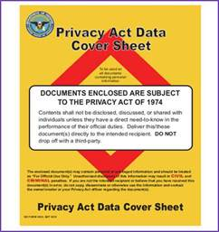 Free Report Cover Page Design Templates privacy act data cover sheet jobproposalideas com