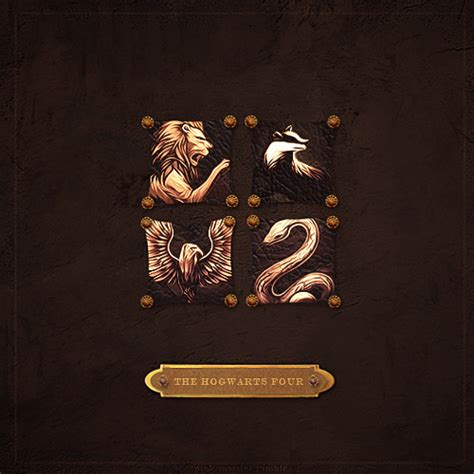 four houses of hogwarts hogwarts house rivalry images the hogwarts four wallpaper and background photos