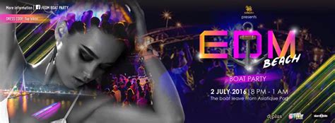 edm boat party edm beach boat party nightlife asiatique the