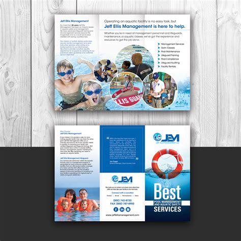 brochure designs uk modern bold brochure design for jeff ellis management llc