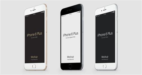 Free Iphone 6 Plus 55 Inch Templates Psd   free iphone 6 plus 55 inch templates psd new style for