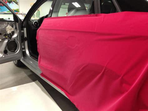 velvet wrapped audi a1 wrapped in pink velvet video autoevolution
