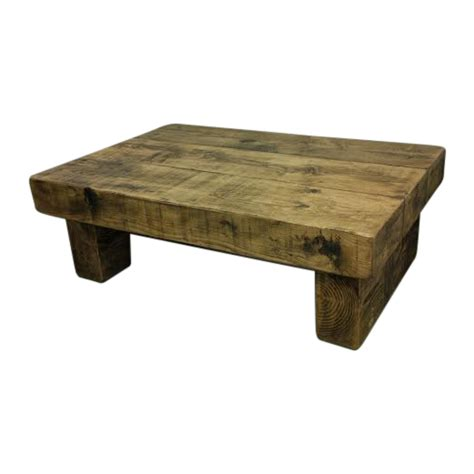 Light Oak Bookcases The 4ft X 3ft Rustic Chunky Coffee Table Ely Rustic