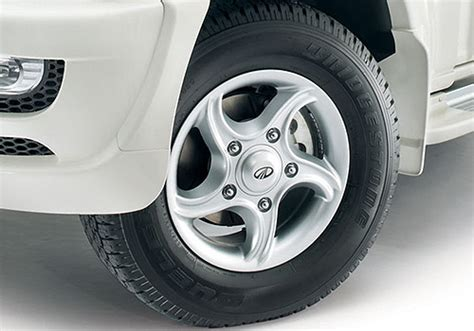 mahindra scorpio alloy wheels price new cars and bikes in india price review specifications