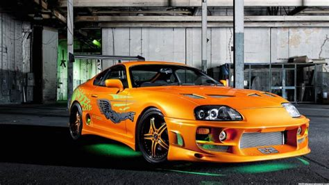 Fast Comfortable Cars by Paul Walker S Cars In The Fast And The Furious